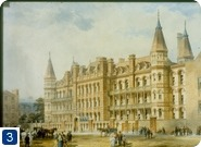 Artist's impression of the 1875 building